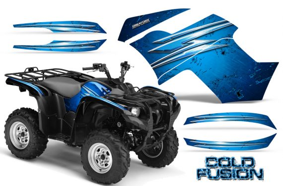 Yamaha Grizzly 700 CreatorX Graphics Kit Cold Fusion BlueIce 570x376 - Yamaha Grizzly 700/550 Graphics