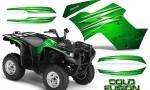 Yamaha Grizzly 700 CreatorX Graphics Kit Cold Fusion Green 150x90 - Yamaha Grizzly 700/550 Graphics