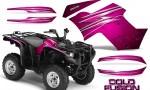 Yamaha Grizzly 700 CreatorX Graphics Kit Cold Fusion Pink 150x90 - Yamaha Grizzly 700/550 Graphics