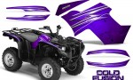Yamaha Grizzly 700 CreatorX Graphics Kit Cold Fusion Purple 150x90 - Yamaha Grizzly 700/550 Graphics