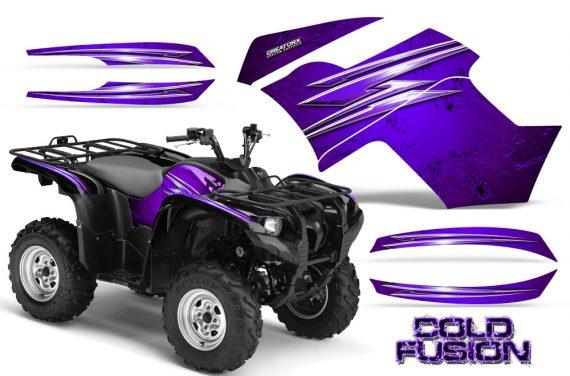 Yamaha Grizzly 700 CreatorX Graphics Kit Cold Fusion Purple 570x376 - Yamaha Grizzly 700/550 Graphics