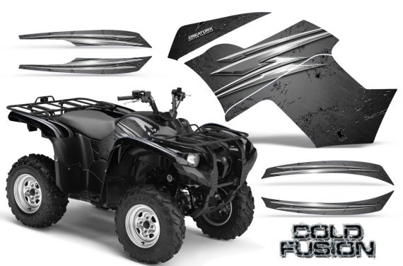 Yamaha Grizzly 700 CreatorX Graphics Kit Cold Fusion Silver 570x376 - Yamaha Grizzly 700/550 Graphics