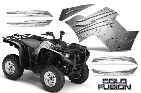 Yamaha Grizzly 700 CreatorX Graphics Kit Cold Fusion White 570x376 - Yamaha Grizzly 700/550 Graphics