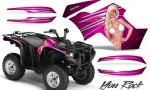 Yamaha Grizzly 700 CreatorX Graphics Kit You Rock Pink 150x90 - Yamaha Grizzly 700/550 Graphics