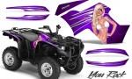 Yamaha Grizzly 700 CreatorX Graphics Kit You Rock Purple 150x90 - Yamaha Grizzly 700/550 Graphics