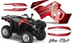 Yamaha Grizzly 700 CreatorX Graphics Kit You Rock Red 150x90 - Yamaha Grizzly 700/550 Graphics
