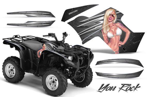 Yamaha Grizzly 700 CreatorX Graphics Kit You Rock Silver 570x376 - Yamaha Grizzly 700/550 Graphics