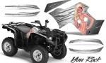 Yamaha Grizzly 700 CreatorX Graphics Kit You Rock White 150x90 - Yamaha Grizzly 700/550 Graphics