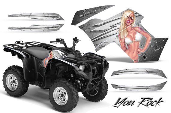 Yamaha Grizzly 700 CreatorX Graphics Kit You Rock White 570x376 - Yamaha Grizzly 700/550 Graphics