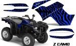 Yamaha Grizzly 700 CreatorX Graphics Kit ZCamo Blue 150x90 - Yamaha Grizzly 700/550 Graphics