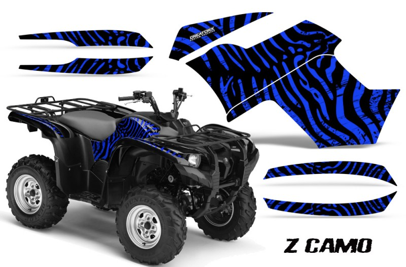 Yamaha-Grizzly-700-CreatorX-Graphics-Kit-ZCamo-Blue