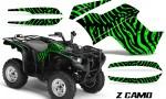 Yamaha Grizzly 700 CreatorX Graphics Kit ZCamo Green 150x90 - Yamaha Grizzly 700/550 Graphics