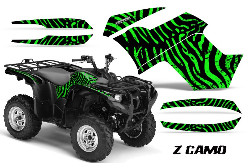 Yamaha-Grizzly-700-CreatorX-Graphics-Kit-ZCamo-Green