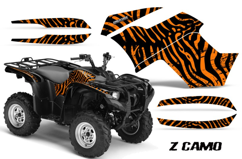 Yamaha-Grizzly-700-CreatorX-Graphics-Kit-ZCamo-Orange