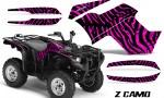 Yamaha Grizzly 700 CreatorX Graphics Kit ZCamo Pink 150x90 - Yamaha Grizzly 700/550 Graphics