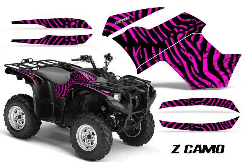 Yamaha-Grizzly-700-CreatorX-Graphics-Kit-ZCamo-Pink