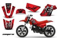 Yamaha-PW-50-CreatorX-Graphics-Kit-Samurai-Black-Red-RB