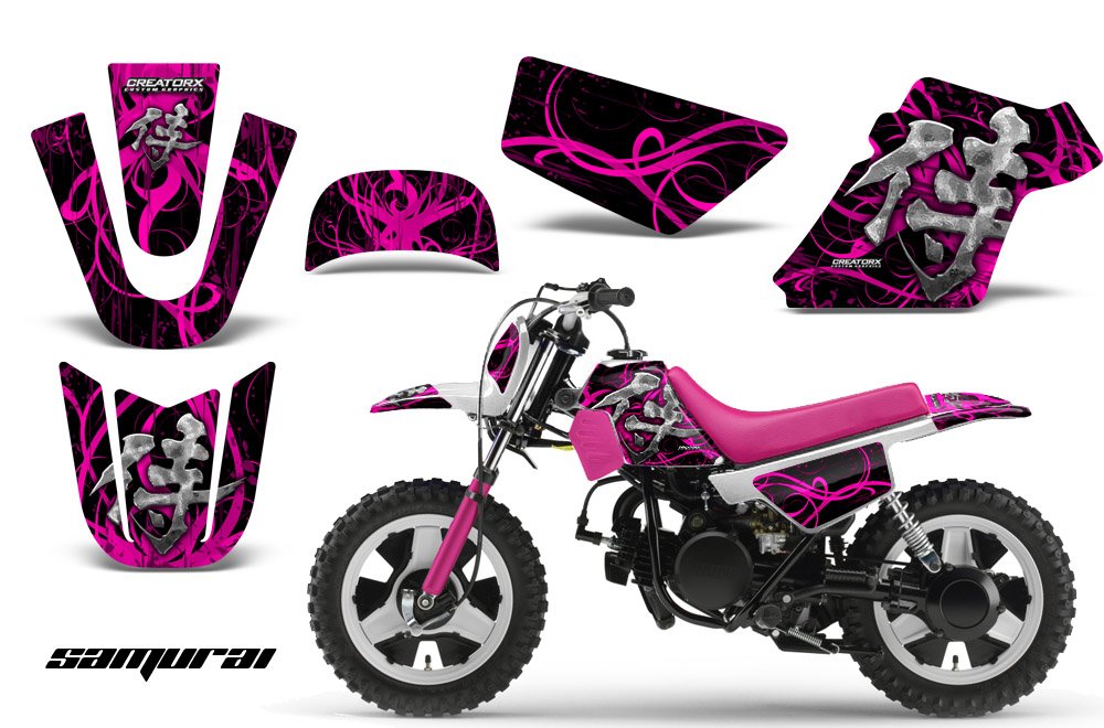 Yamaha PW Graphics CREATORX Graphics MX ATV Decals - Decal graphics for dirt bikes