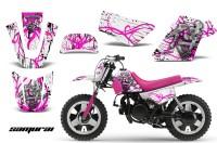 Yamaha-PW-50-CreatorX-Graphics-Kit-Samurai-Pink-White-PB