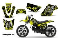 Yamaha-PW-50-CreatorX-Graphics-Kit-Samurai-Yellow-Black-YB
