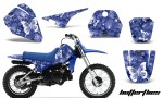 Yamaha PW80 AMR Graphics Kit BF BL 150x90 - Yamaha PW50 1990-2016 Graphics