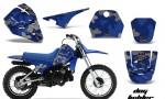 Yamaha PW80 AMR Graphics Kit DogF BL 150x90 - Yamaha PW50 1990-2016 Graphics