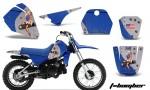 Yamaha PW80 AMR Graphics Kit TB BL 150x90 - Yamaha PW50 1990-2016 Graphics