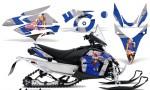 Yamaha Phazer AMR Graphics Kit TB BL 150x90 - Yamaha Phazer RTX GT 2007-2014 Graphics