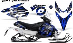 Yamaha Phazer CreatorX Graphics Kit Kit Bolt Thrower Blue 150x90 - Yamaha Phazer RTX GT 2007-2014 Graphics