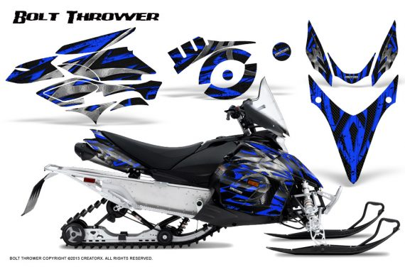 Yamaha Phazer CreatorX Graphics Kit Kit Bolt Thrower Blue 570x376 - Yamaha Phazer RTX GT 2007-2014 Graphics