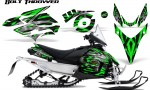 Yamaha Phazer CreatorX Graphics Kit Kit Bolt Thrower Green 150x90 - Yamaha Phazer RTX GT 2007-2014 Graphics