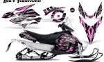 Yamaha Phazer CreatorX Graphics Kit Kit Bolt Thrower PinkLite 150x90 - Yamaha Phazer RTX GT 2007-2014 Graphics