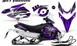 Yamaha Phazer CreatorX Graphics Kit Kit Bolt Thrower Purple 150x90 - Yamaha Phazer RTX GT 2007-2014 Graphics