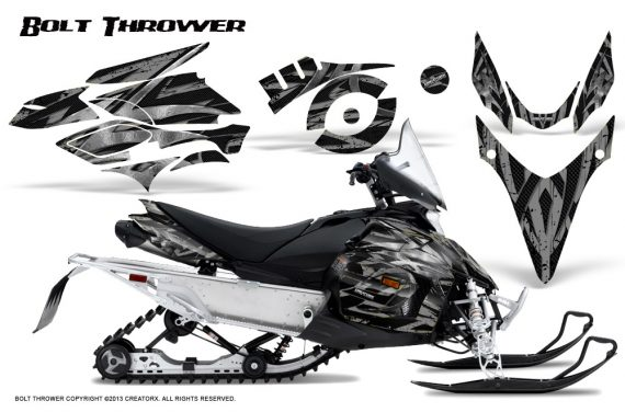Yamaha Phazer CreatorX Graphics Kit Kit Bolt Thrower Silver 570x376 - Yamaha Phazer RTX GT 2007-2014 Graphics