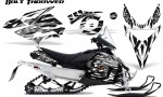Yamaha Phazer CreatorX Graphics Kit Kit Bolt Thrower White 150x90 - Yamaha Phazer RTX GT 2007-2014 Graphics