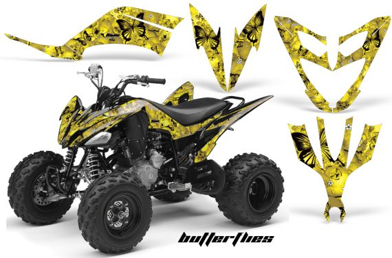 Yamaha Raptor 250 AMR Graphics BUTTERFLIES Yellow 570x376 - Yamaha Raptor 250 Graphics