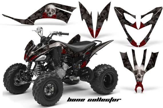 Yamaha Raptor 250 AMR Graphics BoneCollector Black 570x376 - Yamaha Raptor 250 Graphics