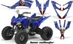 Yamaha Raptor 250 AMR Graphics BoneCollector Blue 150x90 - Yamaha Raptor 250 Graphics