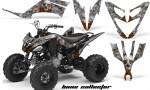 Yamaha Raptor 250 AMR Graphics BoneCollector Silver OrangeRose 150x90 - Yamaha Raptor 250 Graphics