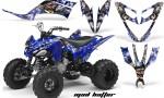 Yamaha Raptor 250 AMR Graphics MadHatter BlueSilverstripe 150x90 - Yamaha Raptor 250 Graphics