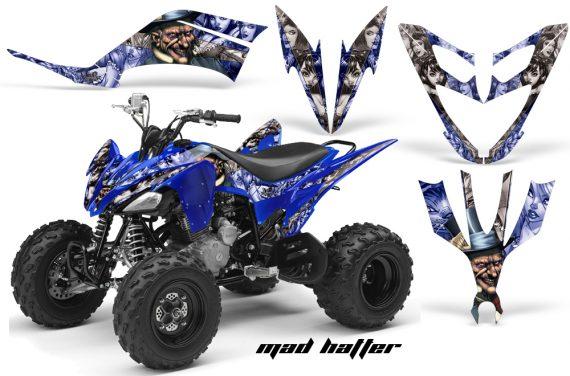 Yamaha Raptor 250 AMR Graphics MadHatter BlueSilverstripe 570x376 - Yamaha Raptor 250 Graphics