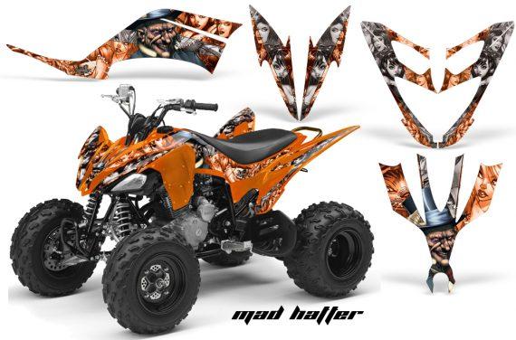 Yamaha Raptor 250 AMR Graphics MadHatter OrangeSilverstripe 570x376 - Yamaha Raptor 250 Graphics
