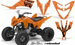 Yamaha Raptor 250 AMR Graphics Reloaded BlackOrangeBG 150x90 - Yamaha Raptor 250 Graphics