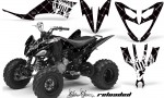 Yamaha Raptor 250 AMR Graphics Reloaded WhiteBlackBG 150x90 - Yamaha Raptor 250 Graphics