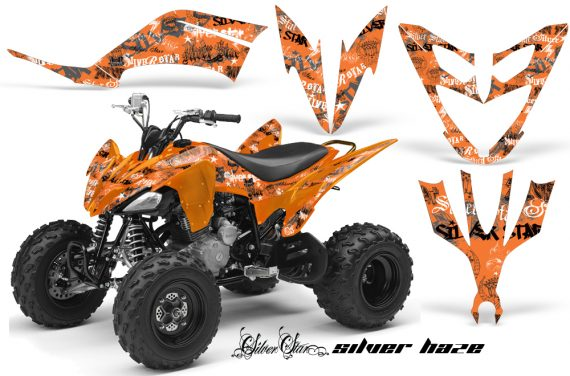 Yamaha Raptor 250 AMR Graphics Silverhaze BlackOrangeBG 570x376 - Yamaha Raptor 250 Graphics