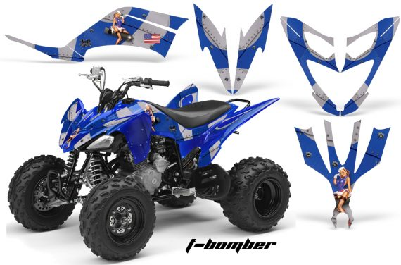 Yamaha Raptor 250 AMR Graphics TBomber Blue 570x376 - Yamaha Raptor 250 Graphics