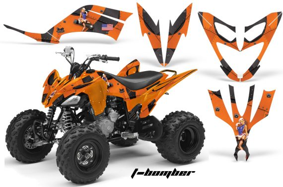 Yamaha Raptor 250 AMR Graphics TBomber Orange 570x376 - Yamaha Raptor 250 Graphics