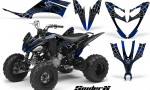 Yamaha Raptor 250 CreatorX Graphics Kit SpiderX Blue 150x90 - Yamaha Raptor 250 Graphics