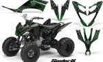 Yamaha Raptor 250 CreatorX Graphics Kit SpiderX Green 150x90 - Yamaha Raptor 250 Graphics
