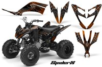 Yamaha-Raptor-250-CreatorX-Graphics-Kit-SpiderX-Orange
